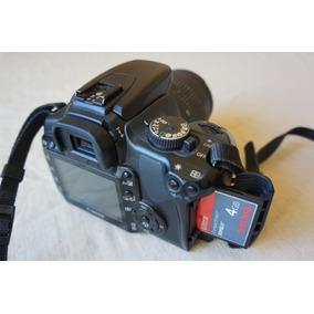 Canon 400d + Lente + Carregador + Bateria + Cf4 Gigas