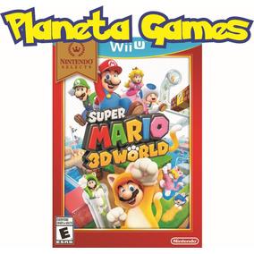 Super Mario 3d World Nintendo Wii U Nuevos Caja Cerrada