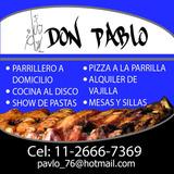 Catering De Asados Pizza A La Parrilla Pernil Barra Libre