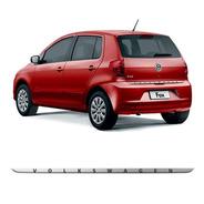 Friso Resinado Escovado Porta-malas Volkswagen Fox 2012/2015