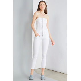 Jumpsuit Mono Enterizo Palazo Italiano Liu-jo Denim Encargo 5be6f4644bf