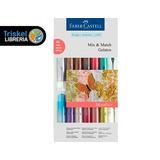 Gelatos Faber Castell Crayon Acuarelable Set X 15 Metalizado