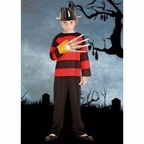 Disfraz Candela Halloween Freddy Krueger Talle 2