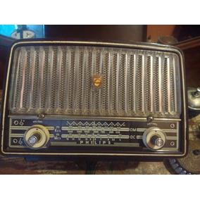 Radio Philips Valvulado Antigo