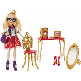 Ever After High Apple White Volta As Aulas- Sala De Estudos