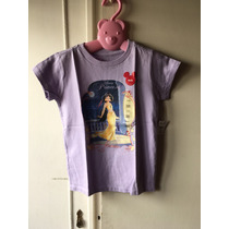 Remera Princesas Original Disney Violeta S