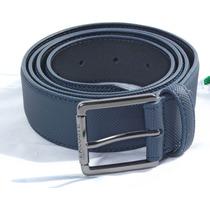 Cinturon De Cuero Lacoste Hombre, Rc1421