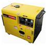 Gerador De Energia A Diesel Monofásico 6 Kva - Partida Elétr