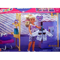 Juguete La Hermana De Barbie Stacie Dormitorio Playset W Es