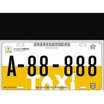 Rento Placas Taxi Cdmx