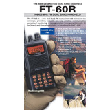 Handy Walkie Talkie Yaesu Ft60r Vhf-uhf