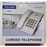 Telefono Cable Jahro Mesa Pared Ct-tf207 Oficina Dj Todelec