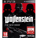 Wolfenstein Ps3 The New Order Lgames