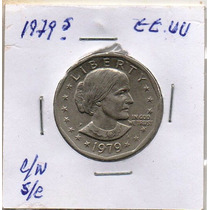 Eeuu 1 Dolar 1979 P, Susan Anthony Mm1268