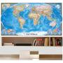 Mapa Mundi M32 - 2m x 1m