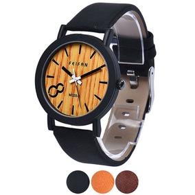 Reloj Vintage Imitacion Madera Unisex Exclusivo