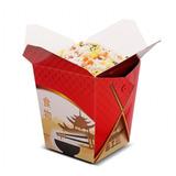 Embalagem Tipo Box Para Comida Chinesa 500ml Ch2 - 100 Unida