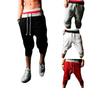 Pants Deportivo Hombre Jogger Harem Baggy Capri Skinny