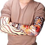 6 X Tatuaje Falso Temporal Mangas Kit Diseño Divertido Brazo