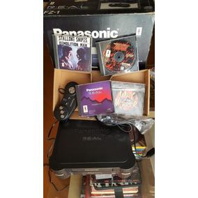 3do Panasonic Console 3do Fz 1 , Controle E Jogos