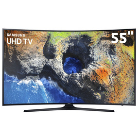 Smarttv 55 4k Curva Samsung 55mu6300 Hdraforma View Espelham