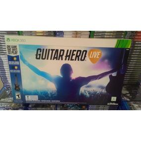 Guitar Hero Live Bundle Xbox 360 Guitarra + Jogo + Garantia