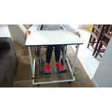 Mesa Desmontável C/ Rodas P/ Cadeirante - Acessibilidade.