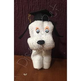 Perritos Toalla Graduación Recuerdo