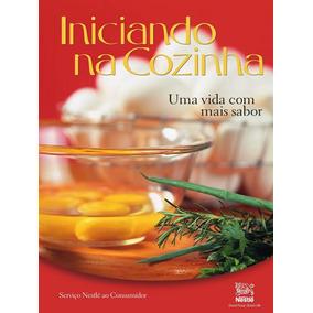 Livro De Receitas Iniciando Na Cozinha