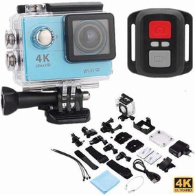 Camera Capacete Carro Moto 4k Wifi Ultra Hd Com Controle
