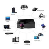 Proyector Led Uc46 1200lum Wifi Hdmi Usb Vga Dnla Geekphone