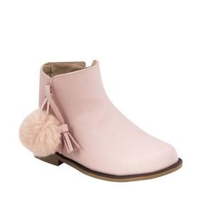 Botín Para Niña Color Rosa Vivis Shoes Kids 181110 B.18 32f576c4324
