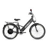 Bicicleta Elétrica Woie Silver Fab. No Brasil - Preto Fosco