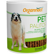 Pet Palitos Probiotico 1kg Organnact 1 Kg