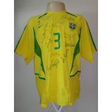 Brasil # 3 - Toda Autografada - De Jogo - Temporada 2003
