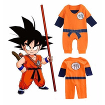 Traje De Bebe De Goku Dragon Ball Tallas De 18 A 24 Meses