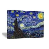 Arte Wieco - Noche Estrellada De Van Gogh Pinturas Al Óleo