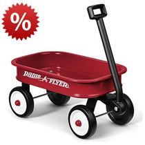 Radio Flyer Vagón Little Red Wagon