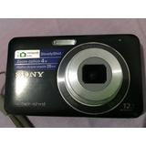 Camara Sony Cybershot W310 12.1 Con Estuche Y Cargador Cable