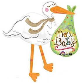 Globo De Cigueña New Baby