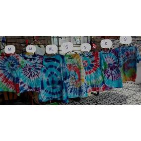 Polos Estilo Tie Dye (hippies), Damas Hombres Niños