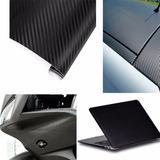 Vinyl Vinil Fibra De Carbono 3d Con Textura 30x127 Cm C0040
