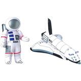 Inflable 23 Astronauta Y 17 Transbordador Espacial - Ju...