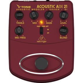 Pedal Para Violao Behringer Adi21 V-tone Acoustic Adi 21
