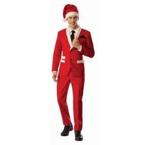 Traje De Santa Claus Papa Noel Esmoquin Disfraz Envio+ Meses