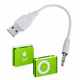 Cable Shuffle 15 Cm Usb A Plug 3.5 Mm Windows Ipod Android.