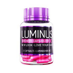 Luminus Hair - 30 Cápsulas (original) Cabelos De Rapunzel