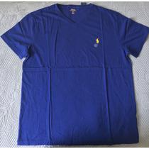 Camiseta Polo Ralph Lauren Gola Em V - Original