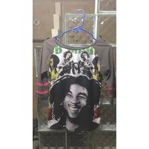 Blusa Dama Bob Marley