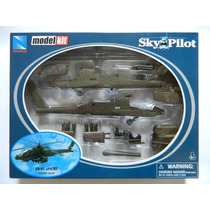 C91 - Helicóptero Ah-64 Apache - Kit De Montar - New Ray